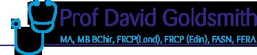 Dr David Goldsmith
