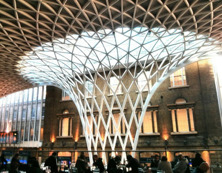 Image of King's Cross Station London, Station Concourse